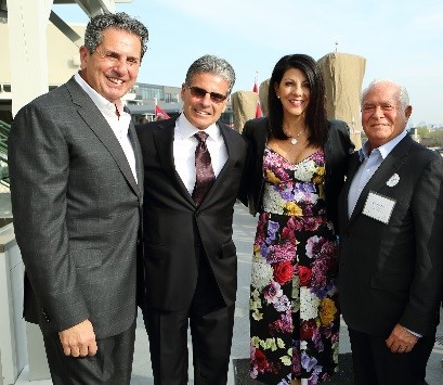 Dominick Mondi Chair with Brock LaMarca, Donna Mondi and Richard Price