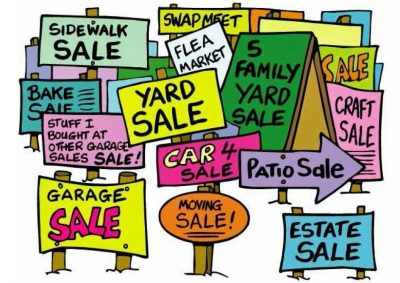 Yard Sale at Anixter Center