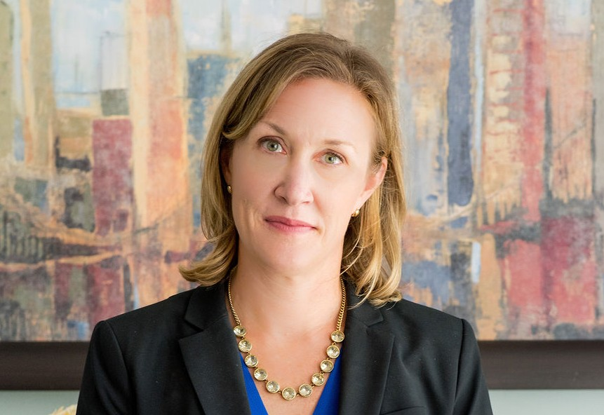 close up profile photo of Rebecca Clark, Anixter Center President/CEO