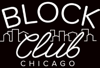 Block Club Chicago logo. Black background with white lettering over the Chicago skyline outline.