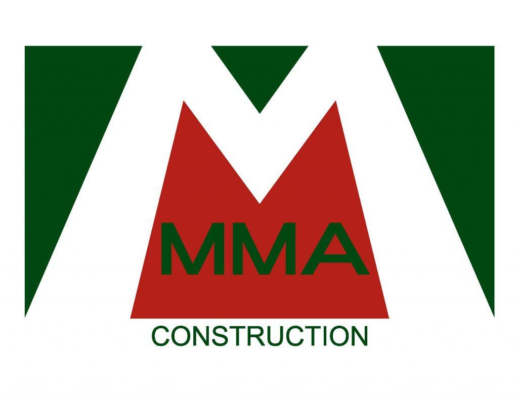 MMA Construction Logo